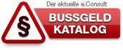 Bussgeldkatalog
